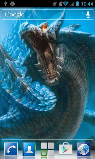 Monstrous sea dragon LWP