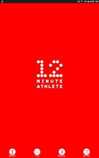 12 Minute Athlete HIIT Workout Fitness app screenshot for Android