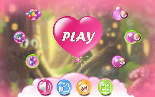 彈出氣球的女孩遊戲