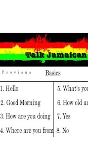 Talk Jamaican - screenshot thumbnail