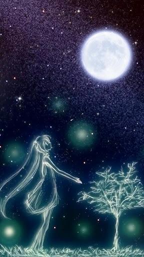 starry night live wallpaper