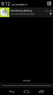 Battery Full Alarm Trial screenshot