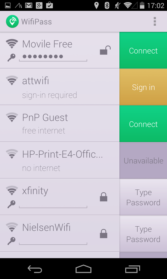WifiPass - Free internet - screenshot
