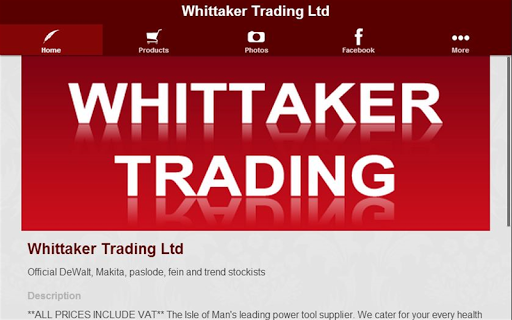 玩購物App|Whittaker Trading Ltd免費|APP試玩
