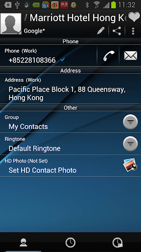 【免費通訊App】RocketDial DarkBlue Theme (HD)-APP點子