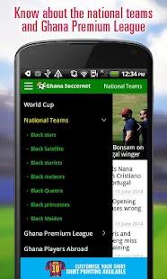 Ghana Soccer News - screenshot thumbnail