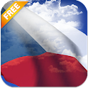 3D Czech Flag Live Wallpaper icon