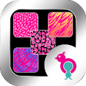 Pink Animal Prints Wallpapers icon