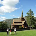 Norwegian:Reinli stave church icon