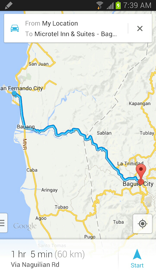 Baguio City Android Apps On Google Play - Baguio map