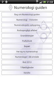 Numerologi Guiden- screenshot thumbnail