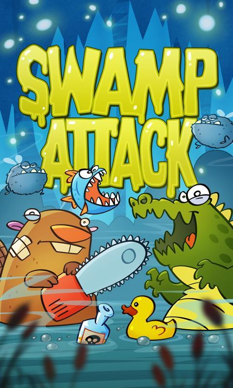 Swamp Attack- screenshot