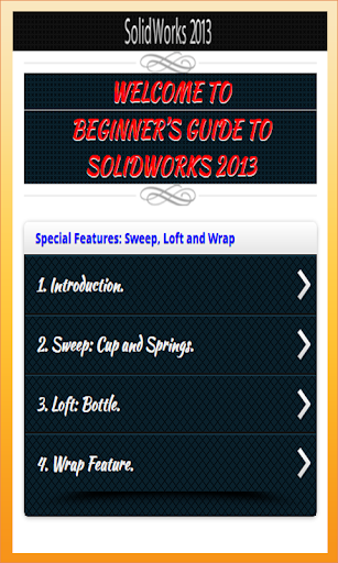 玩教育App|Learn Solidword 2013 Tutorials免費|APP試玩
