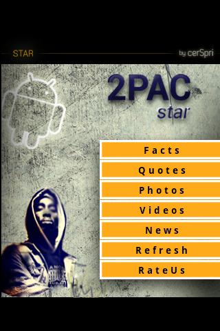 Tupac Shakur Star - screenshot