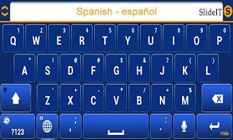 Screenshot of SlideIT Spanish Pack