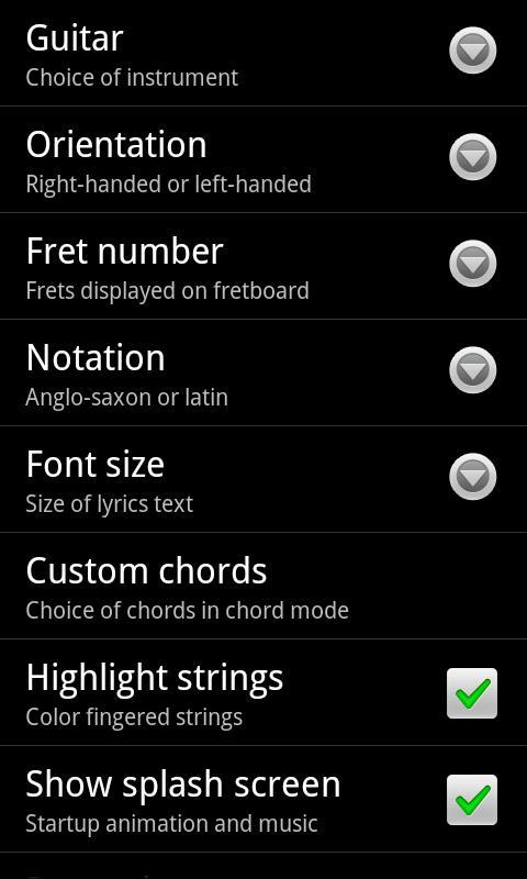 Jimi Guitar screenshot #8