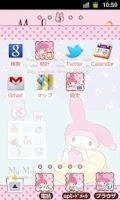 Screenshot of SANRIO CHARACTERS Theme12