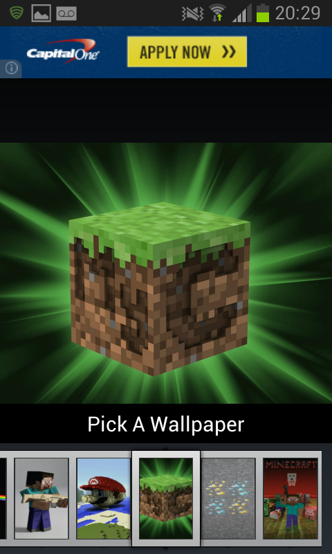 Wallpapers for Minecraft - screenshot