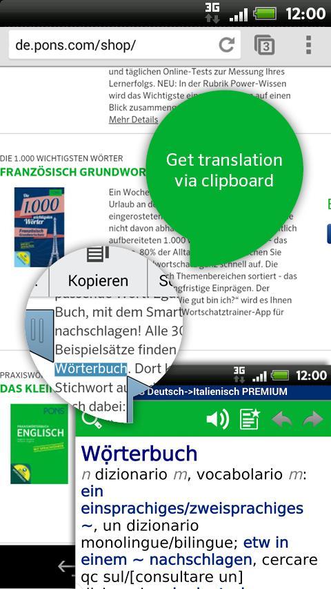 Italian<>German PREMIUM- screenshot