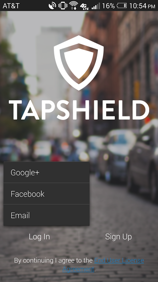 TapShield- screenshot