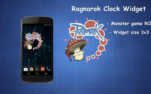 Ragnarok Clock Widget