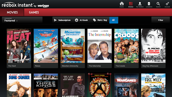 Redbox Instant for Google TV - screenshot thumbnail