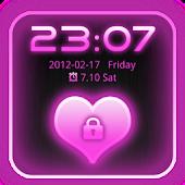 Go Locker Theme Pink Glow Pro