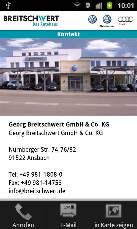Breitschwert - Das Autohaus- screenshot