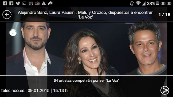La Voz - screenshot thumbnail