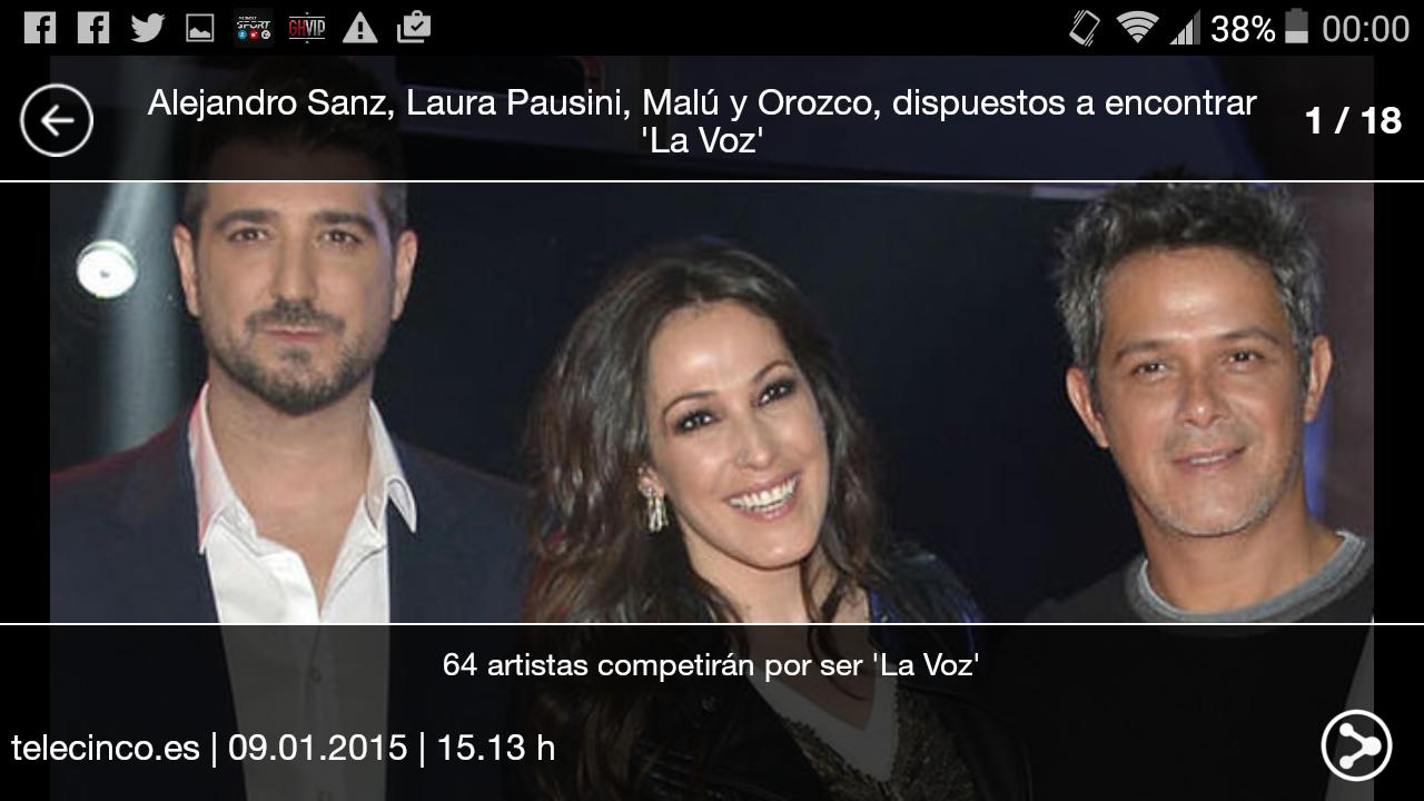 La Voz - screenshot