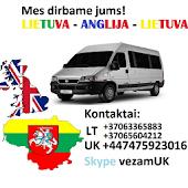 Lietuva - Anglija - Lietuva