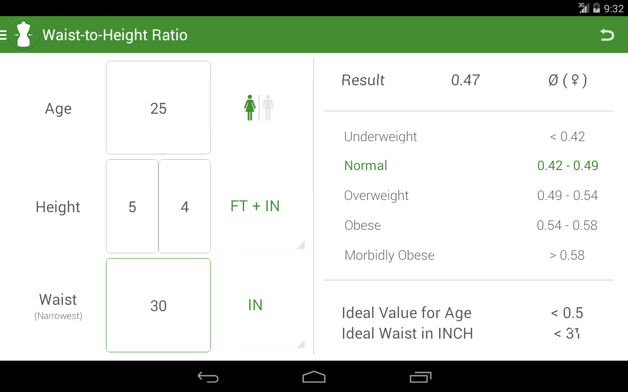 BMI Calculator - Weight Loss - screenshot