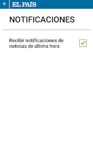 EL PAÍS para smartphone - screenshot thumbnail