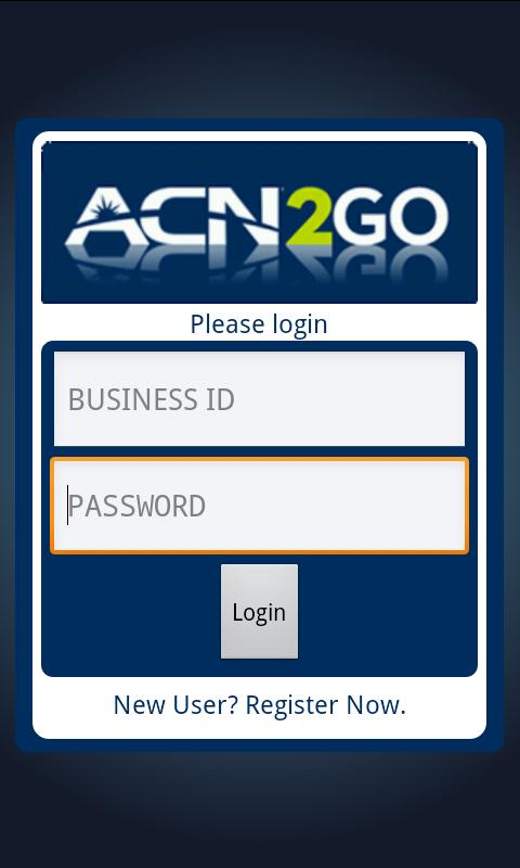 ACN2GO - screenshot