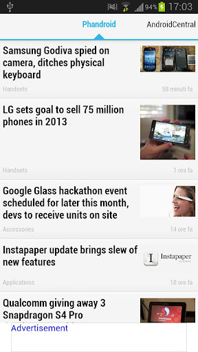 News on the Android world
