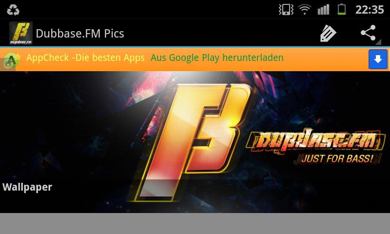 Dubbase.FM - Dubstep Radio- screenshot