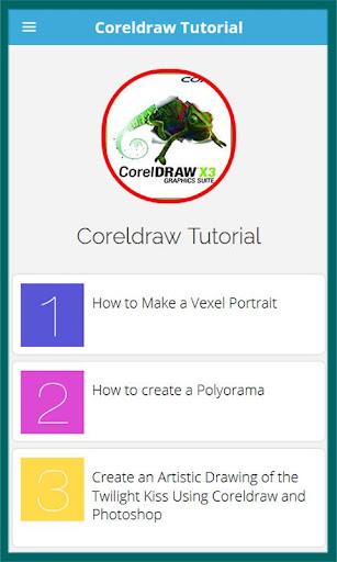 Learn for Coreldraw Tutorial