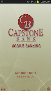 Capstone Bank AL MobileBanking - screenshot thumbnail