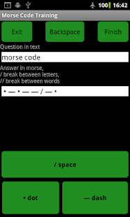 Morse Code Training SOUND FREE - screenshot thumbnail
