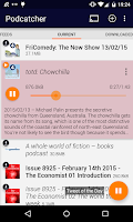 Screenshot of Podcatcher