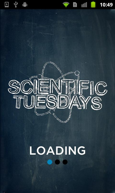 Scientific Tuesdays - screenshot