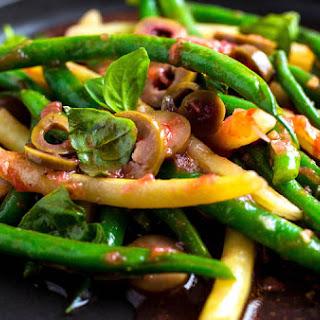 Green and Wax Bean Salad