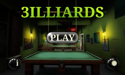 3D Pool game - 3ILLIARDS - screenshot thumbnail