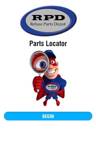 RPD Parts Locator