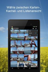 PhotoMap-Galerie - Fotos, Videos und Trips Screenshot