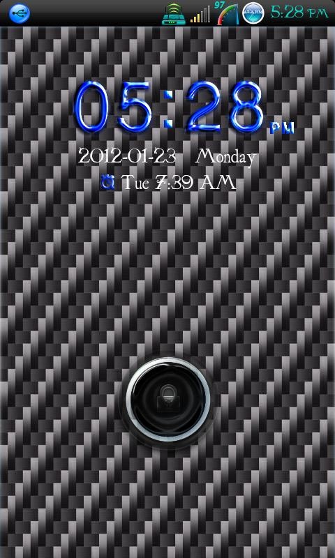 Go Locker Carbon Fiber - screenshot