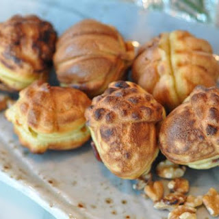 Hodogwaja Mini Korean Cakes with Red Bean & Walnut Filling