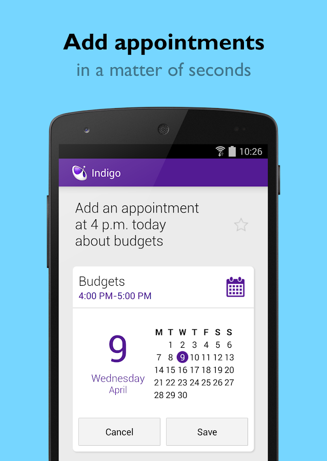Indigo Virtual Assistant - screenshot