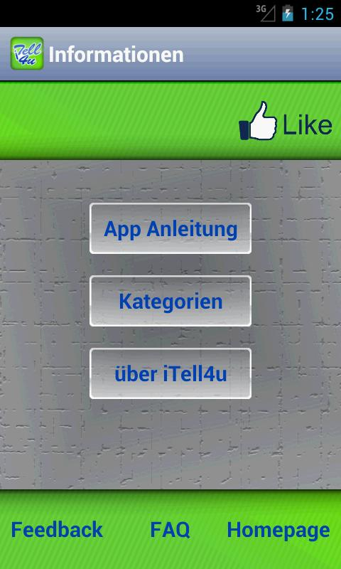 iTell4u- screenshot