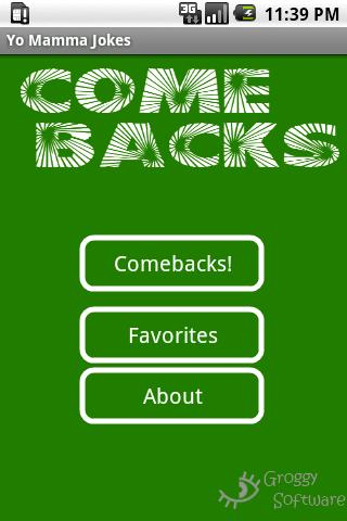 Comebacks Screenshot